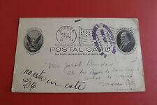 *USA Postkarte Aurora 1904 / Sonderstempel