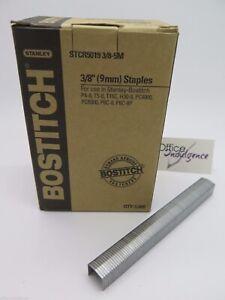 Bostitch Tacker Staples STCR5019 3/8 9mm 5000/Box STCR50195M