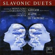 Slavonic Duets - Moniuszko / Cui / Dvorak / Kryger / Rappe / Rutk (2014, CD NEU)