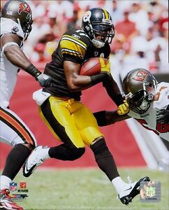 Mike Wallace Pittsburgh Steelers NFL Licensed Unsigned Glossy 8x10 Photo B
