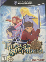 Tales Of Symphonia - Nintendo Gamecube Boxed No Manuals - Tested 5/17 ✔️