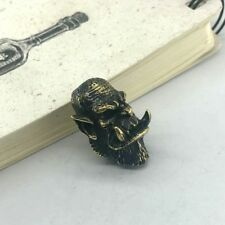 Multipurpose Brass Lanyard Bead Paracord Knife Tool Pendant Knife Beads # 42