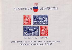 Liechtenstein Block 2 postfrisch