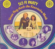 COSMIC JOKERS Sci Fi Party 1994 Digipak CD of 1974 LP Splax Klaus Schulze