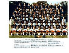1985 CHICAGO BEARS SUPER BOWL CHAMPS 8X10 TEAM PHOTO PAYTON ILLINOIS  FOOTBALL