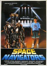 Mini Poster film SPACE NAVIGATORS 1993 Al Maker Jesse Dann Jeanna Belle