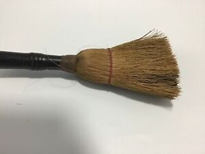 Antique Hand Brush Whisk Broom Brush With Wooden Handle