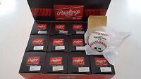 (12) Rawlings Official MLB Baseball 1 DOZEN Individually Boxed Manfred ROMLB