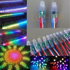 50PCS WS2811 RGB Full Color Pixel 12mm Waterproof Addressable String Light 5V