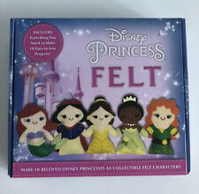Disney Princess Felt Learn to Sew Art Project Crafts Make Characters Aimee Ray