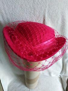 Ladies Canda C&A Cerise hat