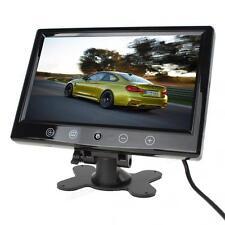 800 x 600 Pixel 9Inch TFT LCD Car Rear View Monitor Headrest DVD VCR Monitor 12V