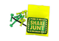 SHAKE JUNT HARDWARE 7/8in Phillips ALL GREEN/YELLOW SKATEBOARD NEW!!