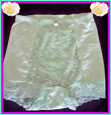 NEW M Medium RHONDA SHEAR GREEN LACE Control Brief PANTIES Boyshort Brighten Day