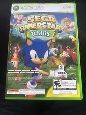 Sega Superstars Tennis And Xbox Live Arcade Comp Disk (Microsoft Xbox 360, 2008)
