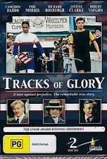TRACKS OF GLORY - TV MINISERIES -  Cameron Daddo, Phil Morris, - 2  DVD's