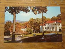 Vintage Postcard College Hall And Abbott Hall, Blue Ridge Assembly, N.C.