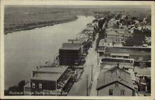 Ste. Marie de Beauce Quebec Birdseye Viewc1920 Postcard jrf