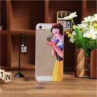 COVER BIANCANEVE RIGIDA ULTRA SOTTILE SLIM TRASPARENTE PER IPHONE 4-4S