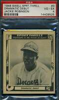 Jackie Robinson Psa Dna Vg-Ex 4 1948 Swell Rookie High End 6