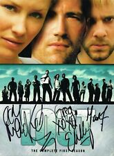 Lost Signed Season One Dvd Matthew Fox Evangeline Lilly Dominic Monaghan Coa