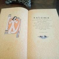 Salome by Oscar Wilde Book published 1945, Heritage Club