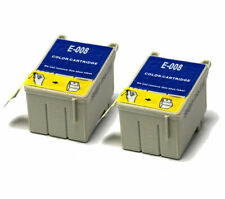 2x Colour Compatible (non-OEM) Ink Cartridges to replace T008