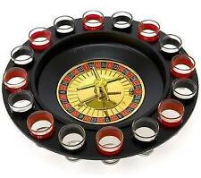 Maxam Shot Glass Roulette Drinking Game Set - 2 Balls and 16 Glasses