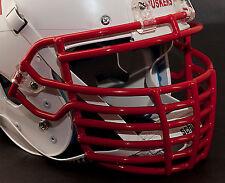 Schutt Super Pro BIG GRILL Football Helmet Facemask - SCARLET (RED)