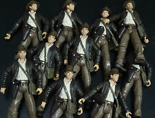 lot of 10 Indiana Jones Raiders of the Lost Ark  no gun only figure #h43