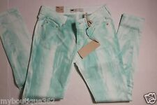 LEVIS 535 WOMENS GREEN MULTI LEGGING JEANS SIZE 29 NEW WITH TAG