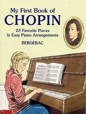 My First Book Of Chopin Learn Raindrop Prelude Minute Waltz EASY Piano Music