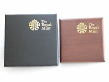 2008 - 2013 Royal Mint Gold Silver £5 Five Pound Crown Coin Box Only No Coin