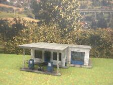 H0 1:87 Verlassene Tankstelle Märklin Fleischmann Roco Diorama Modelleisenbahn