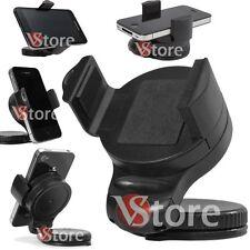 Supporto Universale Pinza Vetro da Ventosa Braccio Auto per Cellulare GPS 360°