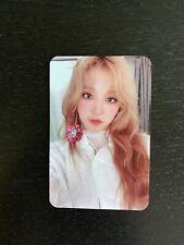 (G)i-dle YUQI Senorita Broadcast photocard gidle (g)idle
