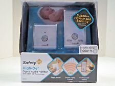 ***Safety 1st High Def Digital Audio Baby Monitor 1000+ Ft Range 08024 A202***