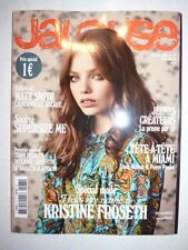 Magazine JALOUSE mode fashion #177 février 2015 spécial mode Kristine Froseth