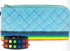 RAINBOW Wallet Cuff Chain clutch purse zipper gay pride Beach LGBT $21.99 ret.