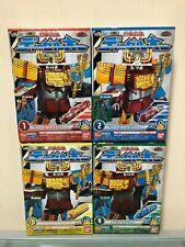 Power Rangers MiniPla Ressha Sentai ToQger DIESEL-OH All 4 Box Set