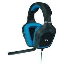 Logitech G430 Over-the-Ear Stereo Gaming USB Wireld Headset