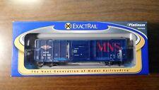EXACTRAIL PLATINUM SERIES MNS P-S 5344 Box Car MNS #49734 HO SCALE