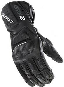 Joe Rocket GPX 2.0 Gloves - Motorcycle Street Bike Riding Race Leather Mens