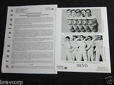 DEVO 'PIONEERS WHO GOT SCALPED' 2000 PRESS KIT—PHOTO