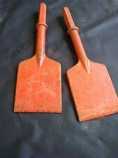 (2) Burner and Lay Clay Spades 1'' Shanks