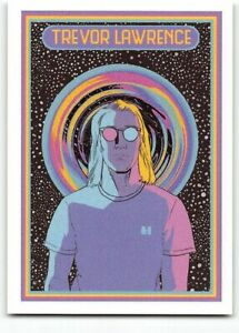 2021 Topps X Trevor Lawrence #36 Interstellactic Retro Space #1