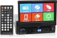 "POWER ACOUSTIK PD-701 CAR SINGLE-DIN 7"" TOUCHSCREEN DVD/CD USB PLAYER RECEIVER"