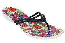 Crocs Isabella Flip Flop Sandals Thong Womens Lightweight Beach Summer Holiday