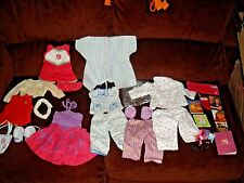 large lot of vintage Authentic American Girl Doll clothes & accessories