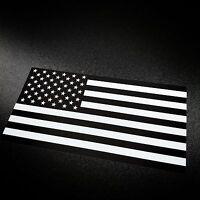 American Flag Black & White - Sticker